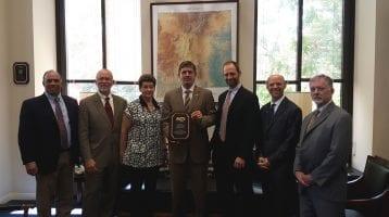 "American Knife & Tool Institute Presents ""Common Sense Award"" to Senator Martin Heinrich and Congressman Kurt Schrader"