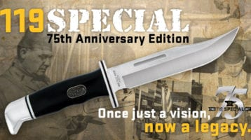 Buck Knives Contest to Win Anniversary Knife