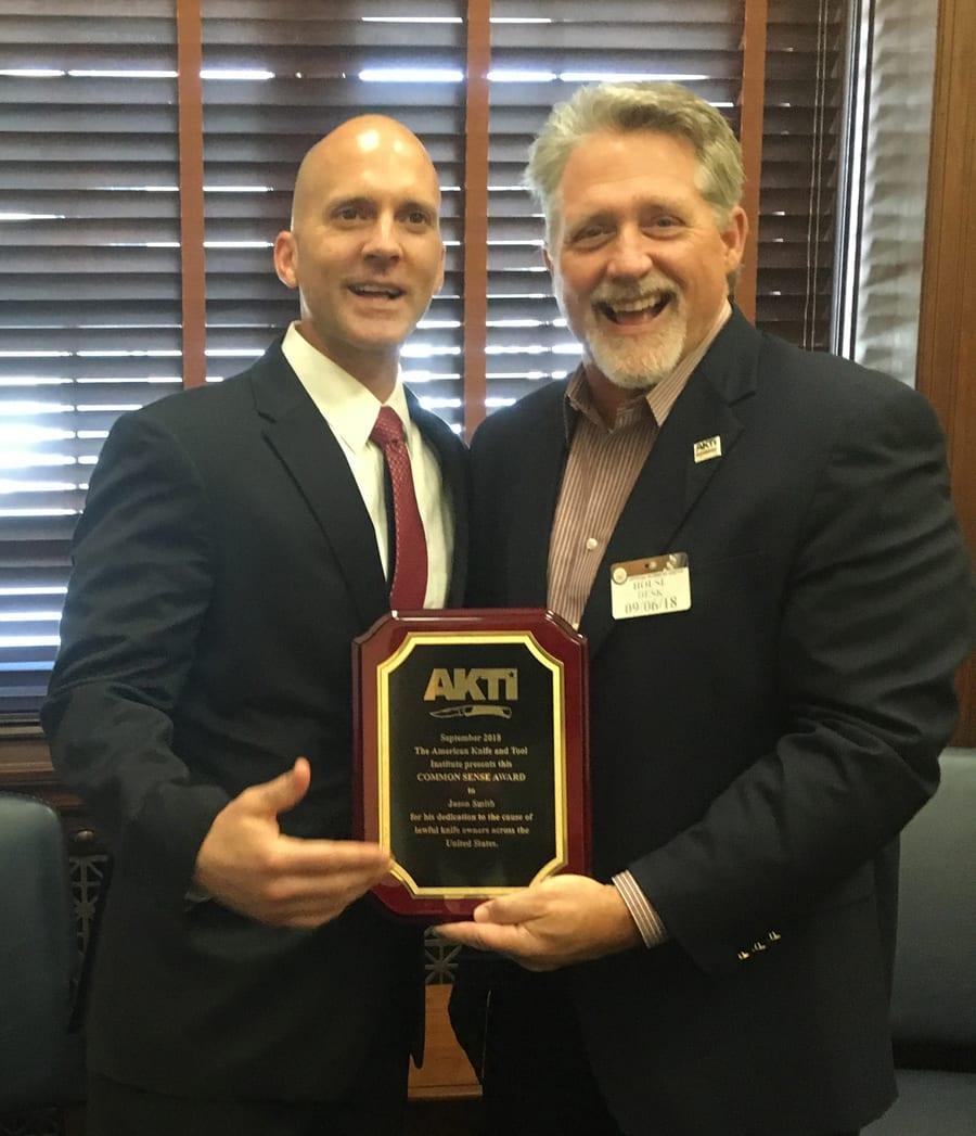 "Executive Privilege Senator: Key Senate Staffers Receive AKTI's ""Common Sense Award"