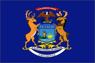 Michigan State Flag