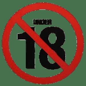 No Under 18