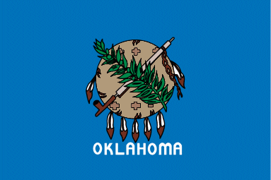 Okalahoma State Flag